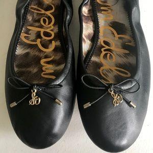 Sam Edelman Shoes - Sam Edelman Felicia Ballet Flats 7.5 Black Leather